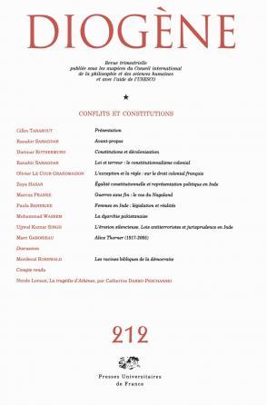 Diogène 2005, n° 212