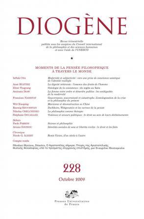 Diogène 2009, n° 228