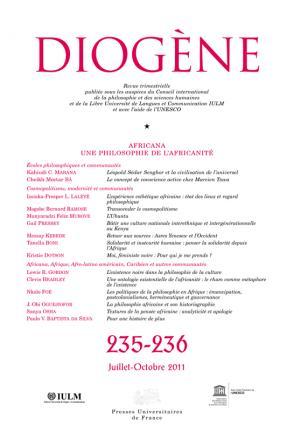 Diogène 2011, n° 235-236
