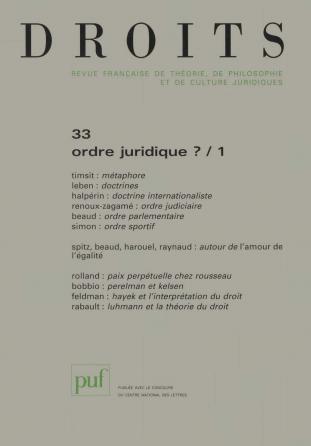 Droits 2001, n° 33