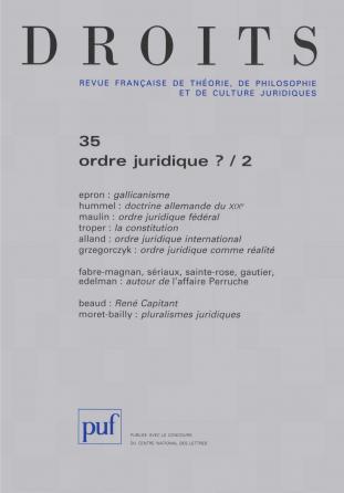 Droits 2003, n° 37