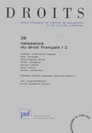 Droits 2004, n° 39