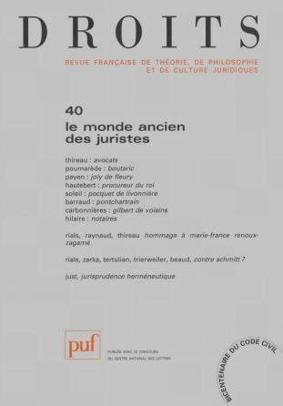 Droits 2004, n° 40