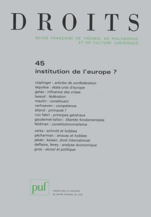 Droits 2007, n° 45