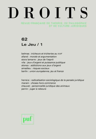 Droits 2015, n° 62