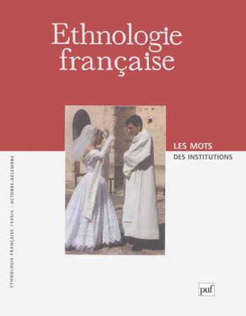 Ethnologie française 1999, n° 4