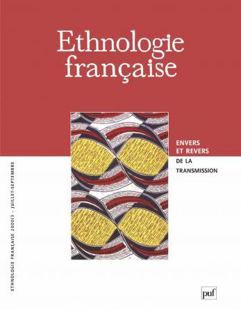Ethnologie française 2000, n° 3