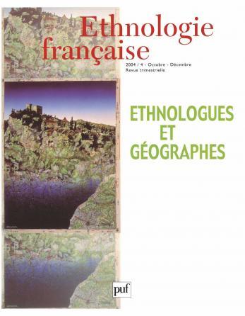 Ethnologie française 2004, n° 4
