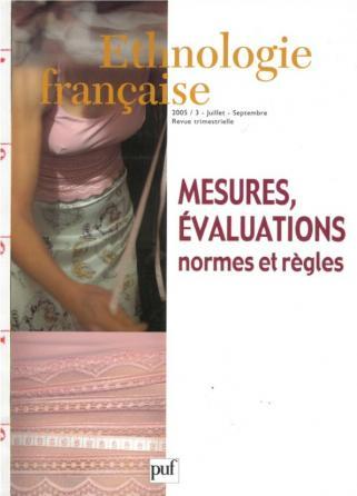Ethnologie française 2005, n° 3