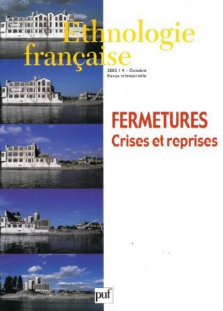 Ethnologie française 2005, n° 4
