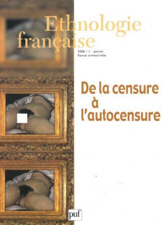 Ethnologie française 2006, n° 1