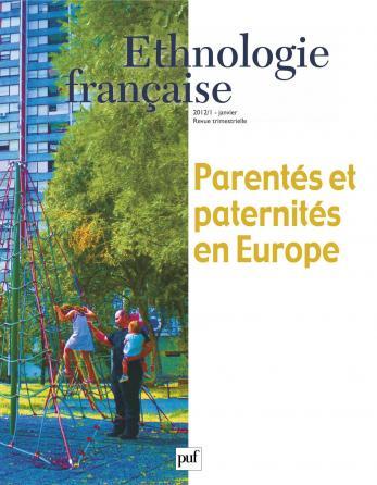 Ethnologie française 2012, n° 1