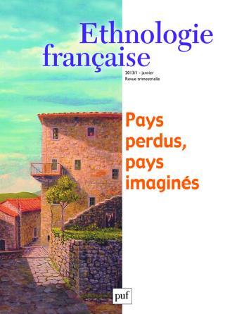 Ethnologie française 2013, n° 1