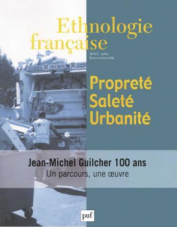Ethnologie française 2015, n° 3