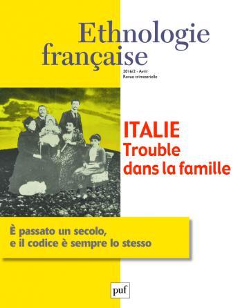 Ethnologie française 2016, n° 2