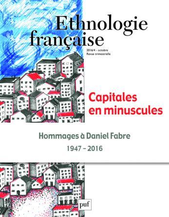 Ethnologie française 2016, n° 4