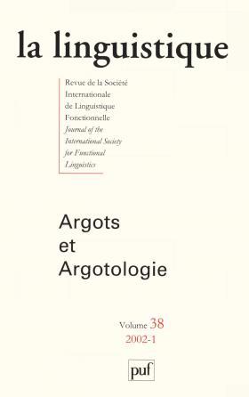 linguistique 2002, vol. 38 (1)