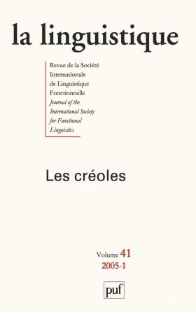 linguistique 2005, vol. 41 (1)