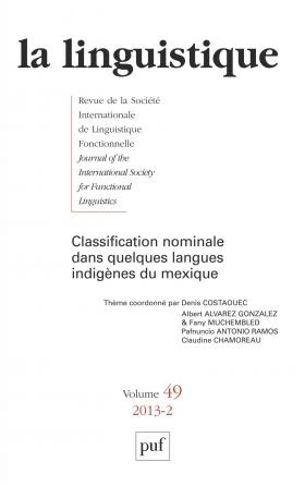 linguistique 2013, vol. 49 (2)