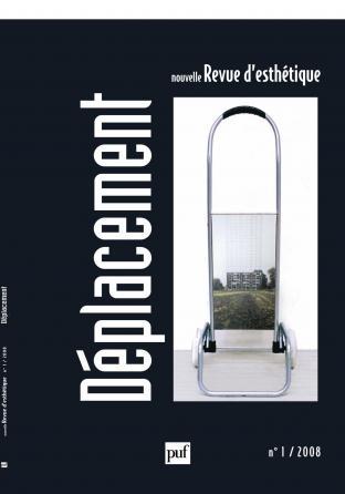 Nouvelle revue d'esthétique 2008, n° 1