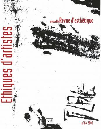 Nouvelle revue d'esthétique 2010, n° 6