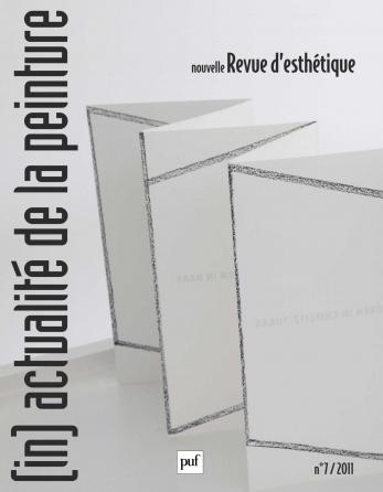 Nouvelle revue d'esthétique 2011, n° 7