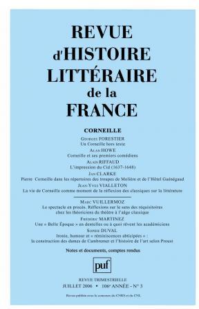 RHLF 2006, n° 3