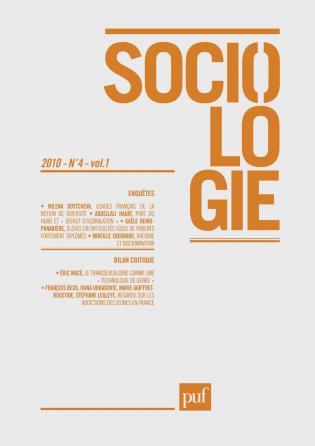 Sociologie 2010, n° 4