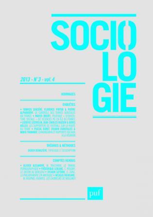 Sociologie 2013, n° 3