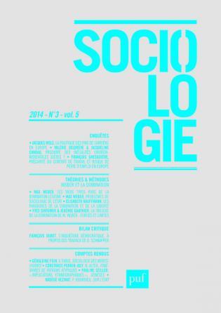 Sociologie 2014, n° 3