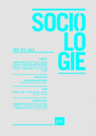 Sociologie 2015, n° 3