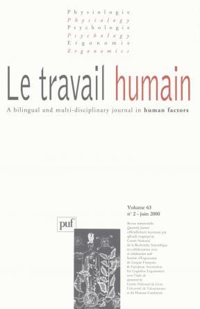 travail humain 2000, vol. 63 (2)