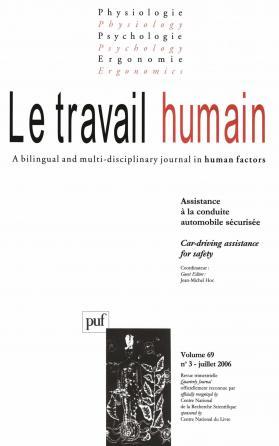 travail humain 2006, vol. 69 (3)