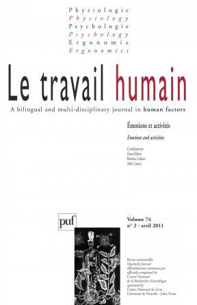 travail humain 2011, vol. 74 (2)