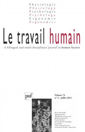 travail humain 2011, vol. 74 (3)