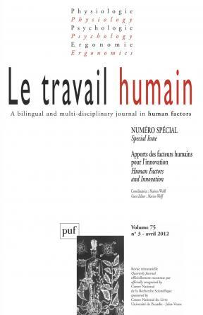 travail humain 2012- vol. 75 (3)