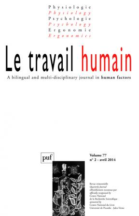 travail humain 2014, vol. 77 (2)