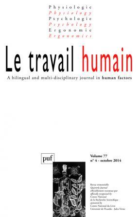 travail humain 2014, vol. 77 (4)