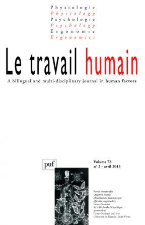 travail humain 2015, vol. 78 (2)