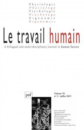 travail humain 2015, vol. 78 (3)