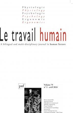 travail humain 2016, vol. 79 (2)