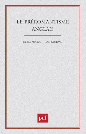 Le préromantisme anglais