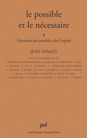 Le possible et le nécessaire - tome 1