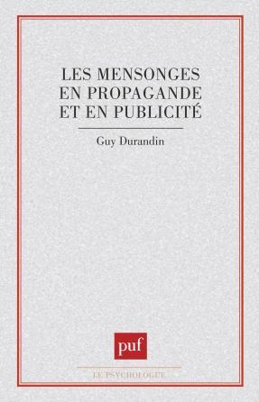 Mensonges en propagande et publicité