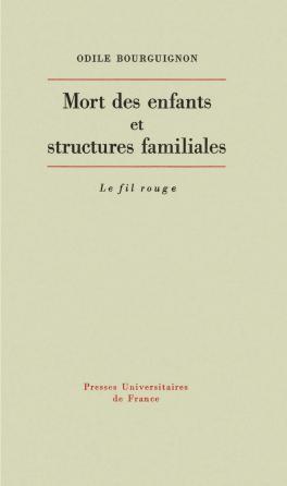 Mort des enfants et structures familiales