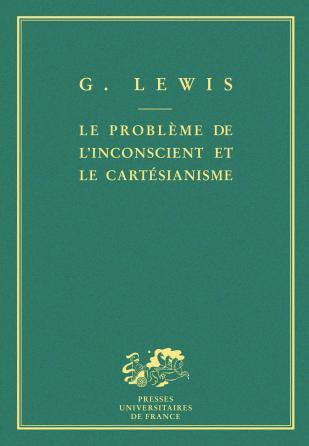Le problème de l'inconscient et le cartésianisme
