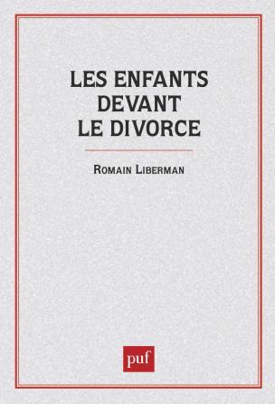 Les Enfants devant le divorce