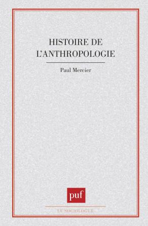 Histoire de l'anthropologie