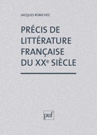Précis littérature française XXe siècle