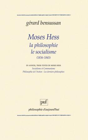 Moses Hess philosophie socialisme